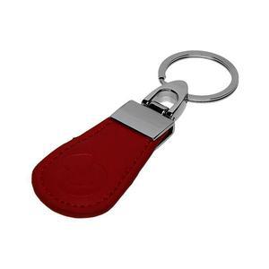 PC-14-RE RFID kožený přívěsek - červený