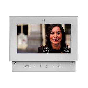 "SE4252, 7"" barevný handsfree videotelefon Sette, DUO systém, interkom, OSD + LED, Farfisa - 1"