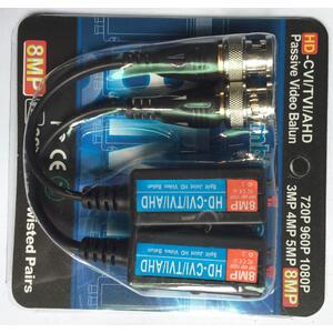 RX-HD600C - 8 Mpix balun, pružinové svorky, ESD, 2ks - 2