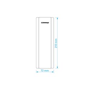 DP-SS - domácí telefon pro systém 4+n, 1 tlačítko - 2
