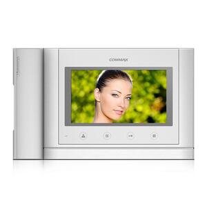 """CDV-70MHD bílý - verze 17-30Vdc - videotelefon 7"""", CVBS, se sluch., 2 vst. - 2"""