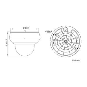 DS-2DE2A204IW-DE3 - (2.8-12mm)(C) - 2 MPix; venk. PTZ; 4x zoom; WDR; IR 20m; H265+; PoE; - 2