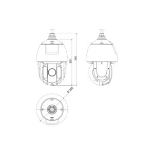 DS-2DE5432IW-AE - (C) - 4 MPix; venk. PTZ; 32x zoom; WDR; IR 150m; H265+; - 2