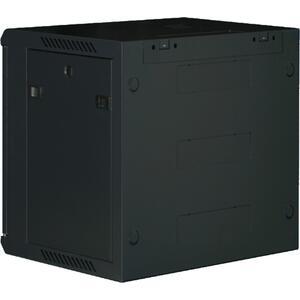 WM.6618.901 - nástěnný, složený, 18U, 600 x 600, sklo - 2
