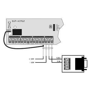 Převodník RS232/485 - pro upgrade ACM12 - 2