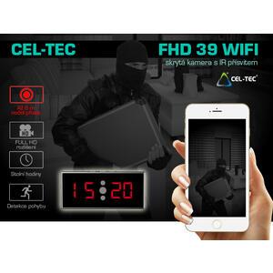 Kamera v budíku FHD 39-WiFi Night - skrytá kamery v budíku - 2