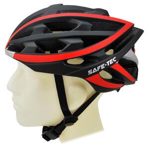 TYR  Black red XL - chytrá helma na kolo - 2