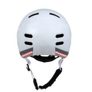 SK8  White M - chytrá helma skate a inline brusle - 2