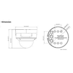 DS-2CD2746G2-IZS(2.8-12mm) - 4 Mpx, IP dome kamera, f2.8-12mm, WDR, IR 40m, AcuSense 2.genenrace - 2