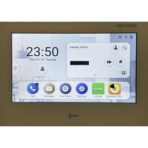 "DS-KH9510-WTE1 - IP videotelefon 10"", LAN, WiFi, Android, bílý - 2"