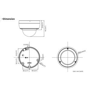 DS-2CD2126G2-I - (6mm) - 2 Mpx, IP dome kamera, f6mm, WDR, EXIR 30m, AcuSense 2.generace - 2