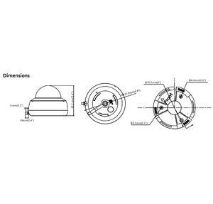 DS-2CD2141G1-IDW1(D) - (2.8mm) - 4 Mpx, WiFi IP dome kamera, f2.8mm, DWDR, IR 30m, mikrofon - 2