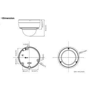 DS-2CD2146G2-I - (4mm) - 4 Mpx, IP dome kamera, f4mm, WDR, EXIR 30m, AcuSense 2.generace - 2