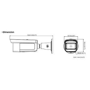 DS-2CD2643G2-IZS - (2.8-12mm) - 4 Mpx, IP bullet kamera, f2.8-12mm, WDR, EXIR 60m, AcuSense 2.generace - 2