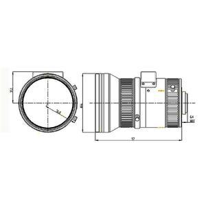 HV0733D-6MP - objektiv 7-33mm pro 6MP kamery s aut. clonou s IR korekcí, světelnost F0.95 - 2
