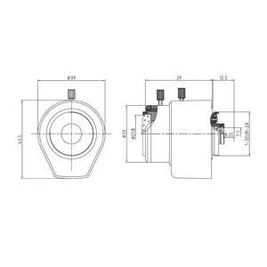 """M13VD246IR, 1/3"""" Megapixelový varifokální objektiv s ohniskovou vzdáleností 2.4 - 6.0mm - 2"""