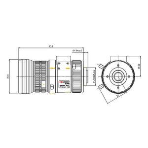 HV1140P-8MPIR - P-Iris objektiv 11-40mm pro 4K kamery s aut. clonou s IR korekcí - 2