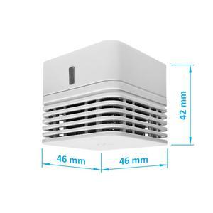 FSD0010, autonomní opticko-kouřový požární detektor s bzučákem, mini provedení, životnost 10 let - 2