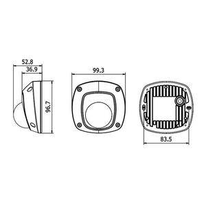 DS-2CE56D8T-IRS/36 - 2MPix venkovní DOME kamera TurboHD; ICR + EXIR + obj. 3,6mm - 2