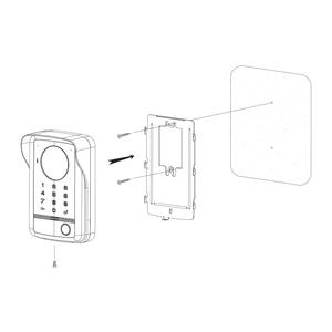 DRC-40DKHD - dveř. stan., 1 tl., HD r, kód, RFID, povrch. - 3
