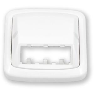WO-070 - rámeček ABB, bílá, Tango - 3