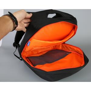 "Bag Arrow K8933W-B - šedá - 15.6"" grey backpack - 3"