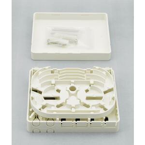 ORB-004 4xSC - optická zásuvka, pro 4 spojky SC/LC/E2000 - 3