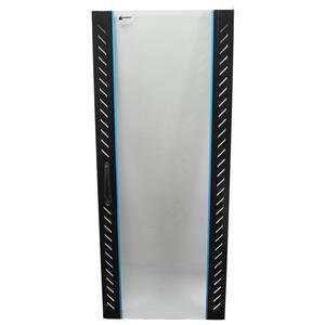 PSD.8842 - stojanový, 42U, 800 x 800, sklo/perforace - 3