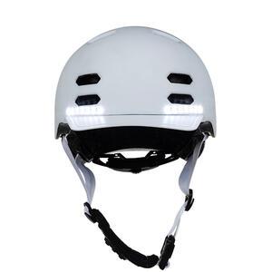 SK8  White M - chytrá helma skate a inline brusle - 3