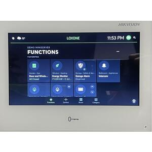"DS-KH9510-WTE1 - IP videotelefon 10"", LAN, WiFi, Android, bílý - 3"