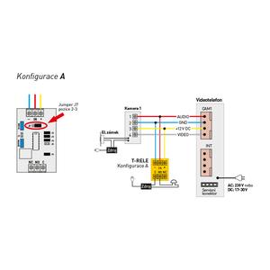 T-RELE - T-RELE, multifukční relé pro systémy Commax - 4