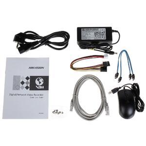 DS-7608NI-I2 - 8CH, 12 Mpx, 2xHDD, 80Mb/256Mb H.265+, VCA, Alarm - 4