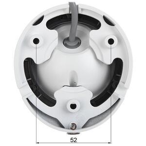 DS-2CE56D0T-IRF - (3.6mm)(C) - 2Mpx, 4v1 dome ball kamera; 3,6mm; IR 20m - 4