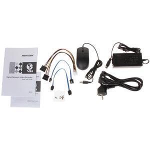 DS-7208HTHI-K2(S) - 8CH, ALL hybrid, 8 Mpx, 2xHDD, H.265+, Alarm, 4K - 4