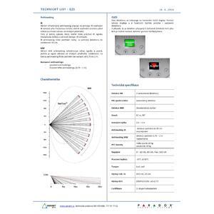 NVX80 - venkovní 3xPIR+MW, BUS/RELÉ, IR antimasking - 4