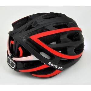 TYR  Black red XL - chytrá helma na kolo - 4