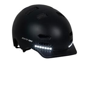 SK8  Black M - chytrá helma skate a inline brusle - 4