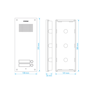 DR-2UM/DP-SS/RF-1A - sada dom. telefonů pro 2 uživ., systém 4+n - 5