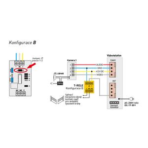 T-RELE - T-RELE, multifukční relé pro systémy Commax - 5