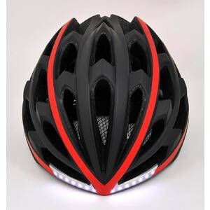 TYR  Black red XL - chytrá helma na kolo - 5