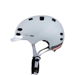 SK8  White M - chytrá helma skate a inline brusle - 5