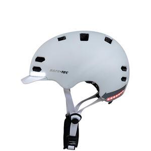 SK8  White S - chytrá helma skate a inline brusle - 5