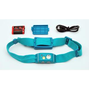 HR1 Pro Blue - nabíjecí čelovka CREE LED - 5