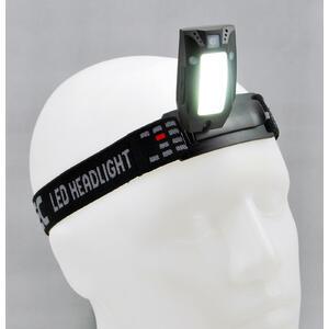 HL170 COB motion - nabíjecí čelovka - 5