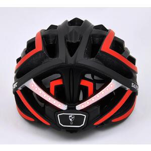 TYR  Black red XL - chytrá helma na kolo - 6