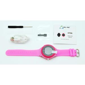 GPS Hodinky s GSM KT06 Pink - dětské hodinky s GPS - 7