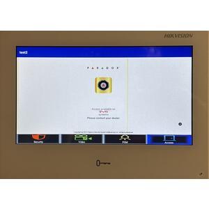 "DS-KH9310-WTE1 - IP videotelefon 7"", LAN, WiFi, Android, bílý - 7"