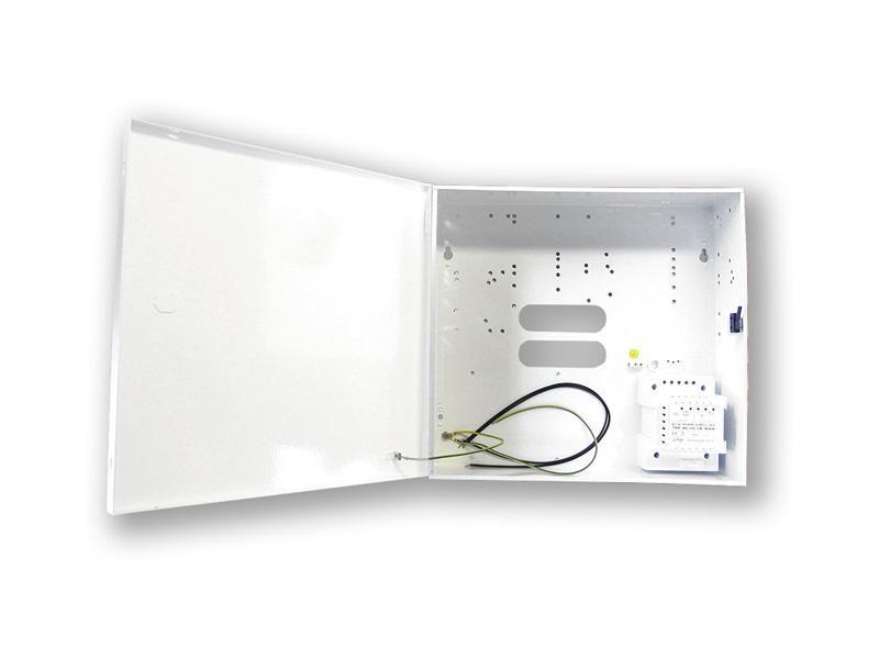 Box S, standardní box pro EZS ústředny (tamper), v 304 x š 322 x h 90