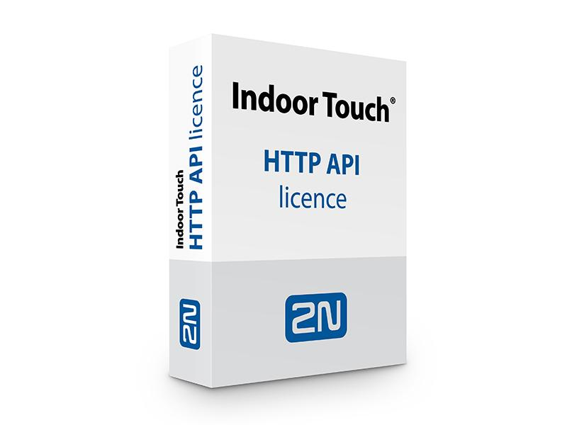 91378395, 2N Indoor Touch - licence HTTP API