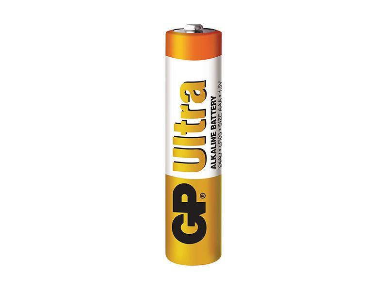 BAT AAA, GP baterie typ AAA alk. mikrotužka, 1,5V